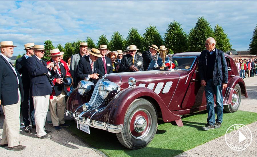 Best of Show AvD-Classic-Gala 2015: Röhr 8 F Olympier Autenrieth D 1932, 75 PS 130km/h. Foto: Rena Hoffmann