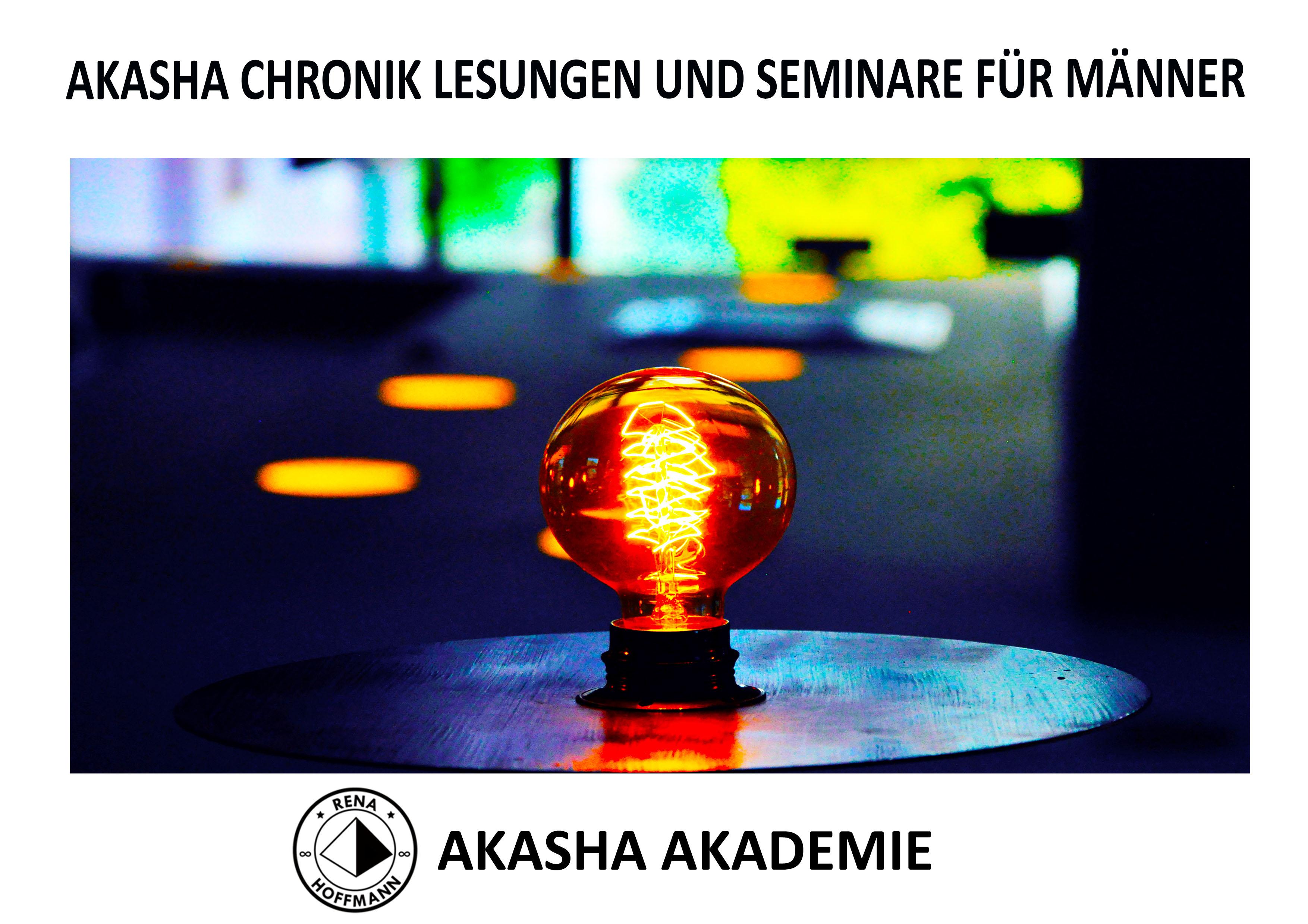 """Der Zugang zur """"Akasha Chronik""""  für Männer und Unternehmen"""